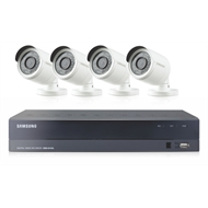 Samsung All-In-One 4 Camera 4 Channel CCTV Home Surveillance Security System