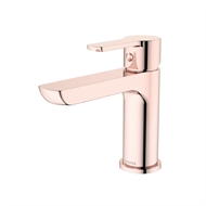 Caroma Rose Gold Jade Basin Mixer