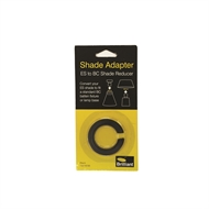 Brilliant Lighting Black ES To BC Shade Adapter