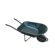 Saxon 60L Poly Tray Garden Wheelbarrow