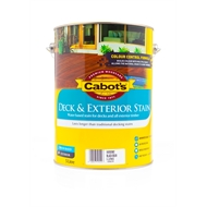 Cabot's water based deck & exterior stain 5l Cedar