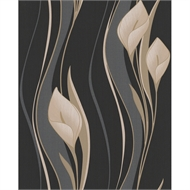 Superfresco Easy Peace  52cmx10m Wallpaper Black