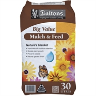 Daltons 30L Big Value Mulch And Feed