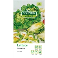 Country Value Seed Lettuce Little Gem