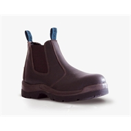 Bata Industrials Worx Safety Boot Size 5 Claret
