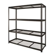 Pinnacle 4 Tier Heavy Duty Adjustable Shelving Unit