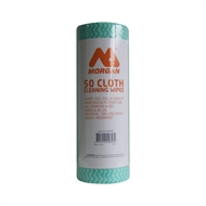 Morgan 25 x 33cm All Purpose Wipes On a Roll - 50 Pack