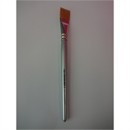 Jasart Size 18 Short Flat Taklon Paint Brush Golden