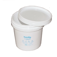 Handy 1L White Pail With Lid