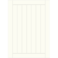 Kaboodle Kitset 450mm Frontal Drawer Panel Country Antique White  4pk