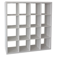 Clever Cube 4 x 4 White Storage Unit
