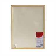 NBP 450 x 600mm Wood Frame Economy Whiteboard