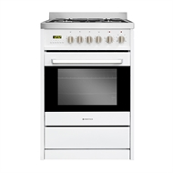 Parmco 600mm White FS 600-WHT Gas Top Stove
