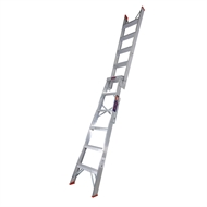 Alfa 1.8 - 3.3m 150kg Dual Purpose Aluminium Ladder