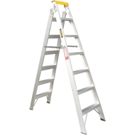 Rhino 2.1 - 3.9m 150kg Aluminium Dual Purpose Ladder