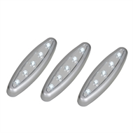 Magic Living LED Push Light - 3 Pack