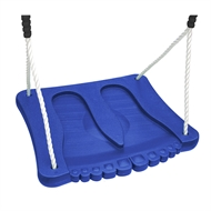 Swing Slide Climb Blue Plastic Foot Swing