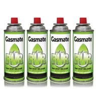 Gasmate 220g Butane Cannisters - 4 Pack