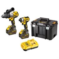 Dewalt 18V 2 Piece Brushless Heavy Duty Cordless Combo Kit