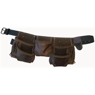 Irwin Oil Tanned Split Leather Tool Apron