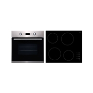 Bellini 600mm Electric Oven and Ceramic Hob Combo