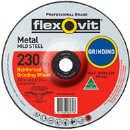 Flexovit 230 x 6.8 x 22mm Grinding Metal Disc