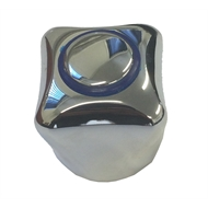 Dissco Chrome Handle - With Blue Indicator And Screw