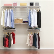 Clever Closet 2.4m White Wardrobe System