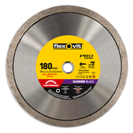 Flexovit 180 x 25/20mm Pro Continuous Diamond Blade