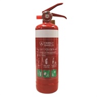 Family Shield 1.0kg Fire Extinguisher