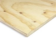 2400 x 1200mm 17mm Structural Untreated DD J-Ply Plywood