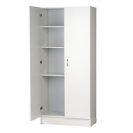 Bedford 900mm White 2 Door Pantry
