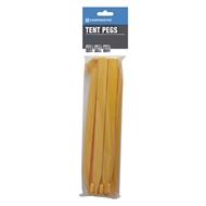 Campmaster 300mm Plastic Tent Pegs  - 6 Pack