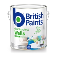 British Paints 1L Clean & Protect Semi Gloss White Interior Paint