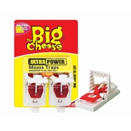 Big Cheese Ultra Power Mouse Trap 2pk