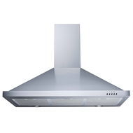 Bellini Canopy Rangehood 900mm Stainless Steel