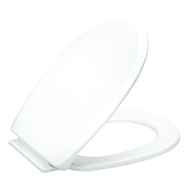 Braiform White Elite Toilet Seat