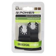 PowerFit 52mm 2 Piece Scraper Blade