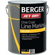 Berger Jet Dry 10l White Gloss Paving Paint Bunnings