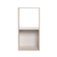 Clever Cube 31 x 29.5 x 61cm White 1 x 2 Storage System