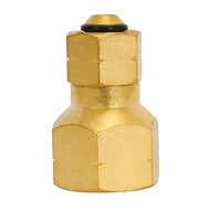 Campmaster Straight Gas Adaptor 3/8