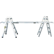 Rhino Mighty 11 120kg Aluminium Multi-Purpose Ladder