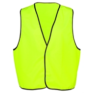 Gardwell Safety Vest Hi-viz Size S Yellow Day Only D47NZ