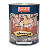 Bondall Monocel Timber Varnish 1L Gloss