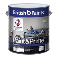 British Paints Paint & Prime  4L Low Sheen Interior