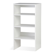 Bedford White Wardrobe Shelf Unit