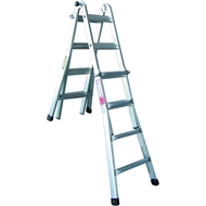 Rhino Mighty 15 120kg Aluminium Multi-Purpose Ladder
