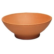 Northcote Pottery 26cm Italian Low Bowl Terracotta Pot
