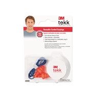 3M™ Tekk Protection™ Reusable Earplug Corded with Case