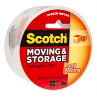3M Scotch 48mm x 50m Moving & Storage Packaging Tape